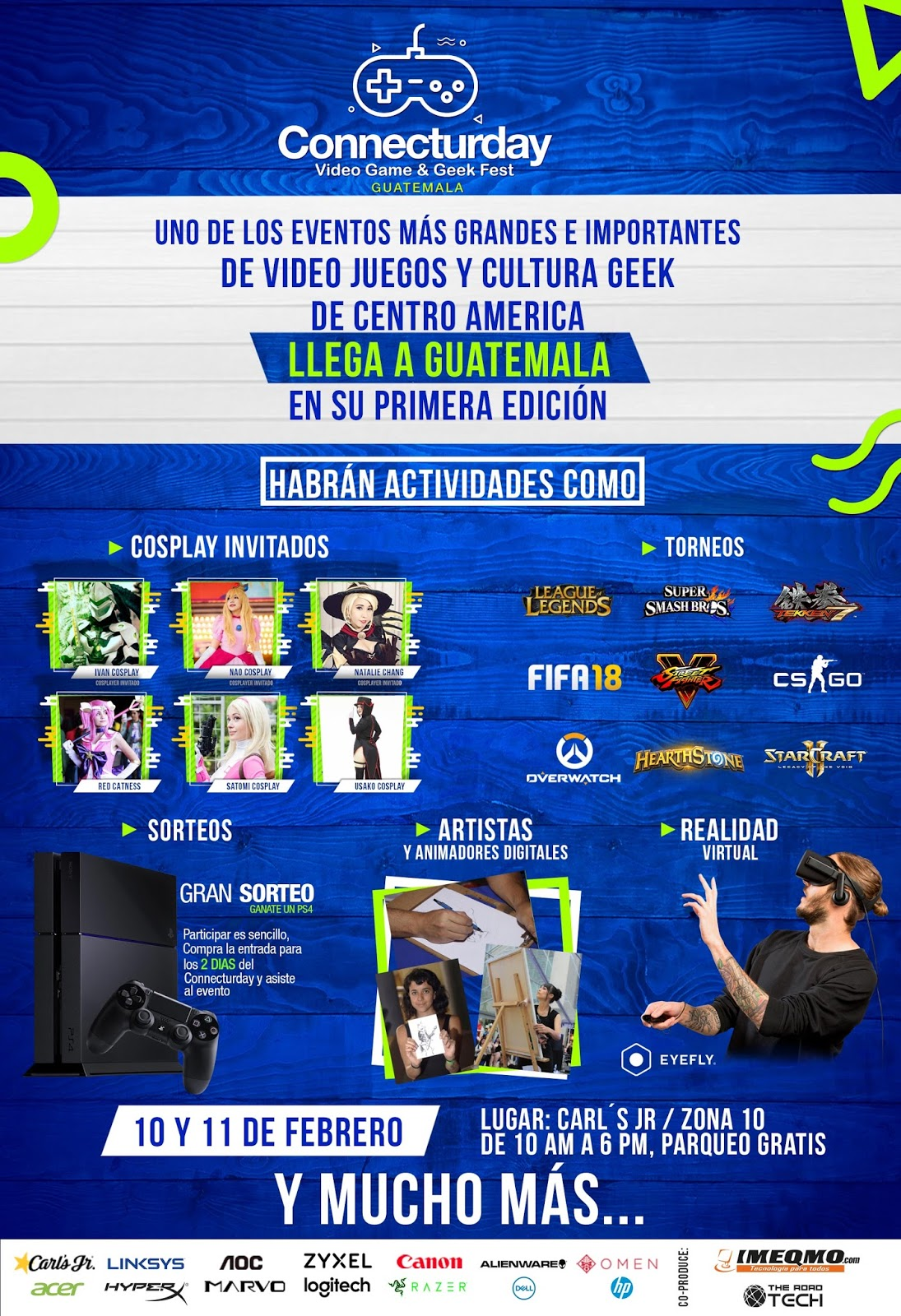 Connecturday Llega A Guatemala Este 10 De Febrero Revista Level