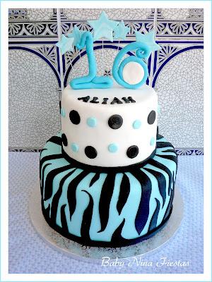fondan cake cebra