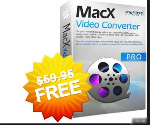 Get MacX Video Converter Pro For FREE Now (Offer Time is Limited For Windows & Mac, valued at $59.95)