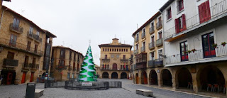 Olite, Plaza de Carlos III el Noble.