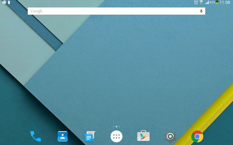 Launcher Android 5.0 Lollipop