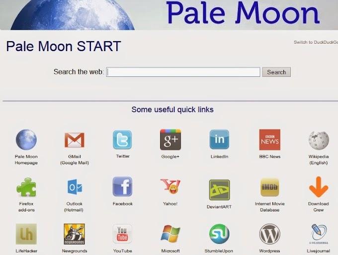 Pale Moon 27.0.3 - Κλώνος του Firefox σας εγγυάται γρηγορότερο σερφάρισμα