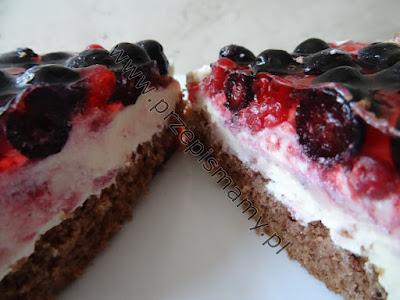 """Ciasto """"Borówkowa słodycz"""""""