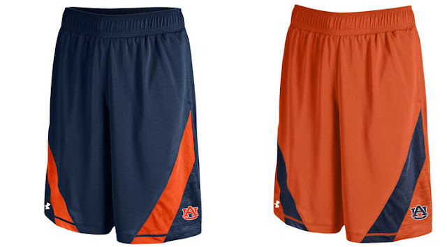 2016 Auburn Under Armour shorts