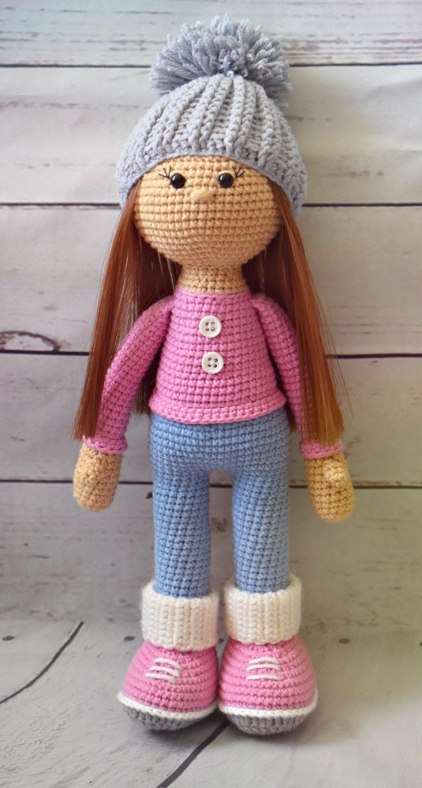 Вязанные куклы со схемами крючком