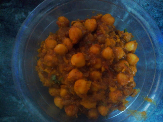Homemade Punjabi Chole