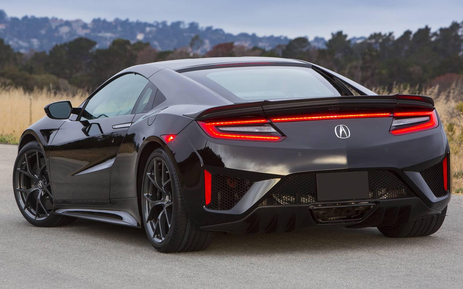 Novo Acura NSX 2017: fotos, vídeo e especificações ...