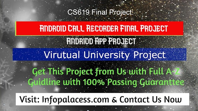 Android Call Recorder Application Final Year Project