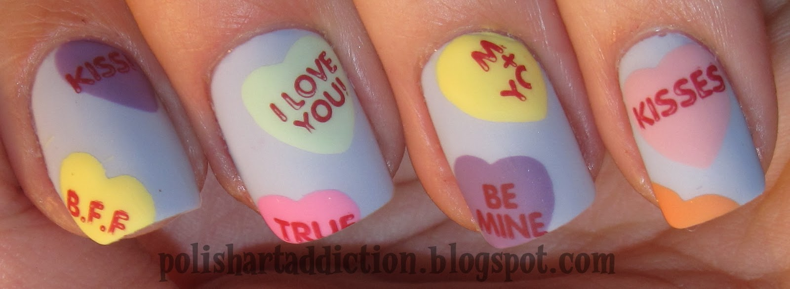V Day Nail Art Contest *closed*