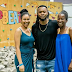 Flavour, Anna Ebiere and their daughter on Christmas day