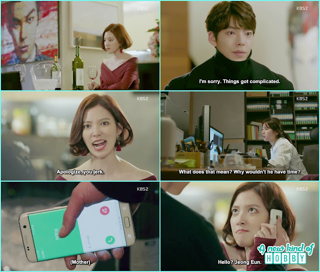 Jeon Eun threw a glass at Joon Young in anger for making her wait- Uncontrollably Fond - Episode 15 Review