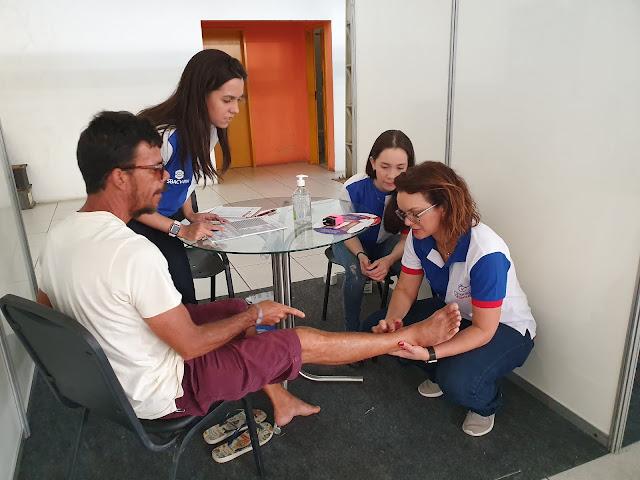 População recebe atendimento gratuito através do Check-up Vascular em Natal