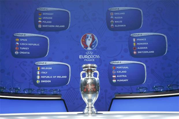 Jadwal Bola Piala Eropa 2016