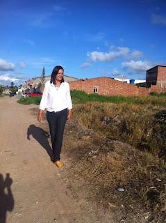 Vereadora Olga Sena fiscaliza situação do bairro da Boa Vista