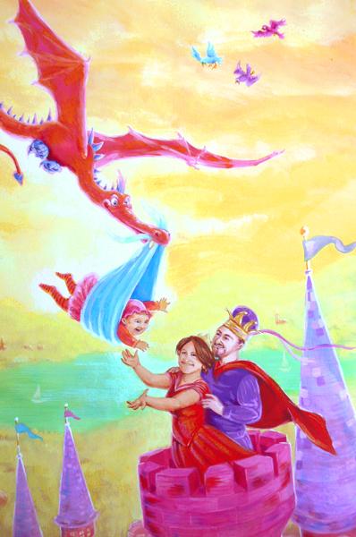 Fantasy family portrait