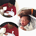 Photos: Former BBA contestant, Tayo Faniran, welcomes second son