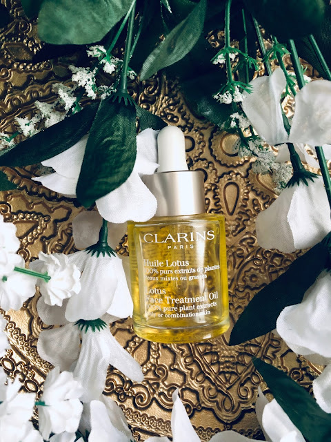 Lotus face treatment oil de Clarins
