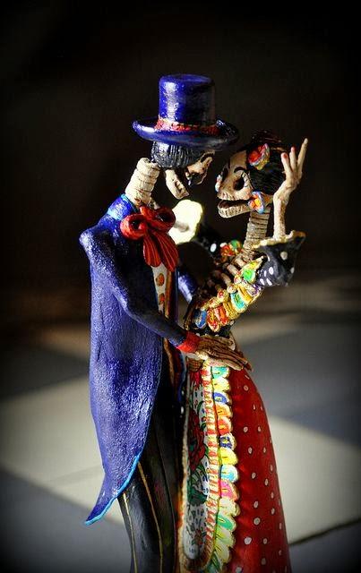 Bellas artesanias mexicanas de catrinas  Tips para mujeres