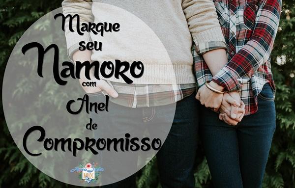 Marque seu Namoro com Anel de Compromisso