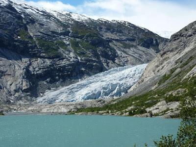 glaciar Nigards en 2010