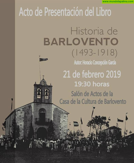 """Presentación del Libro: """"Historia de Barlovento (1493-1918)"""""""