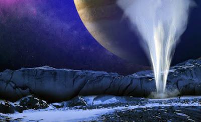El océano de Europa de Júpiter es similar a las condiciones de la Tierra primitiva durante sus primeros mil millones de años