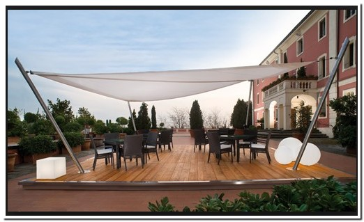 Sail Awnings For Wind Sails For Patios By Corradi