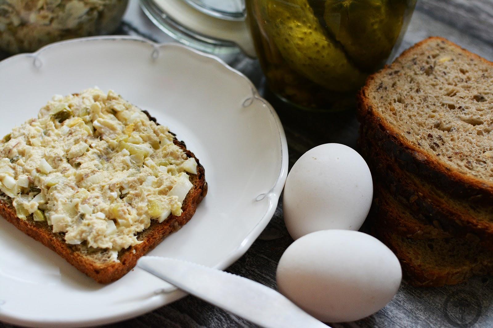 pasta z makreli i jajek