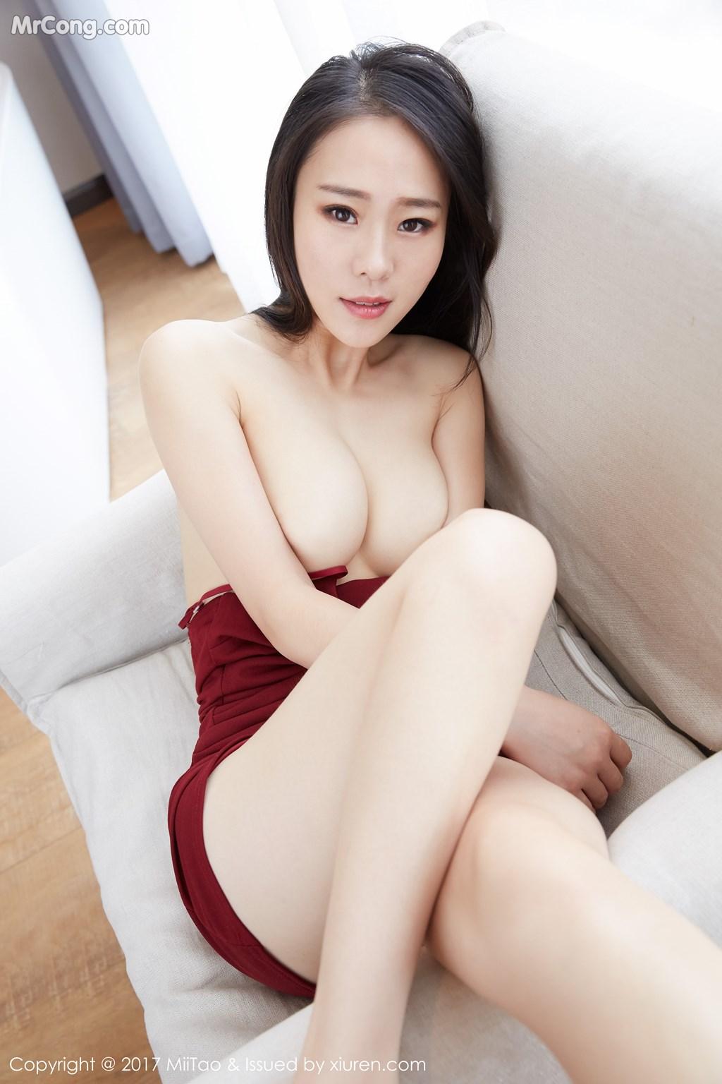 Image MiiTao-Vol.079-Yu-Wei-MrCong.com-022 in post MiiTao Vol.079: Người mẫu Yu Wei (雨薇) (54 ảnh)