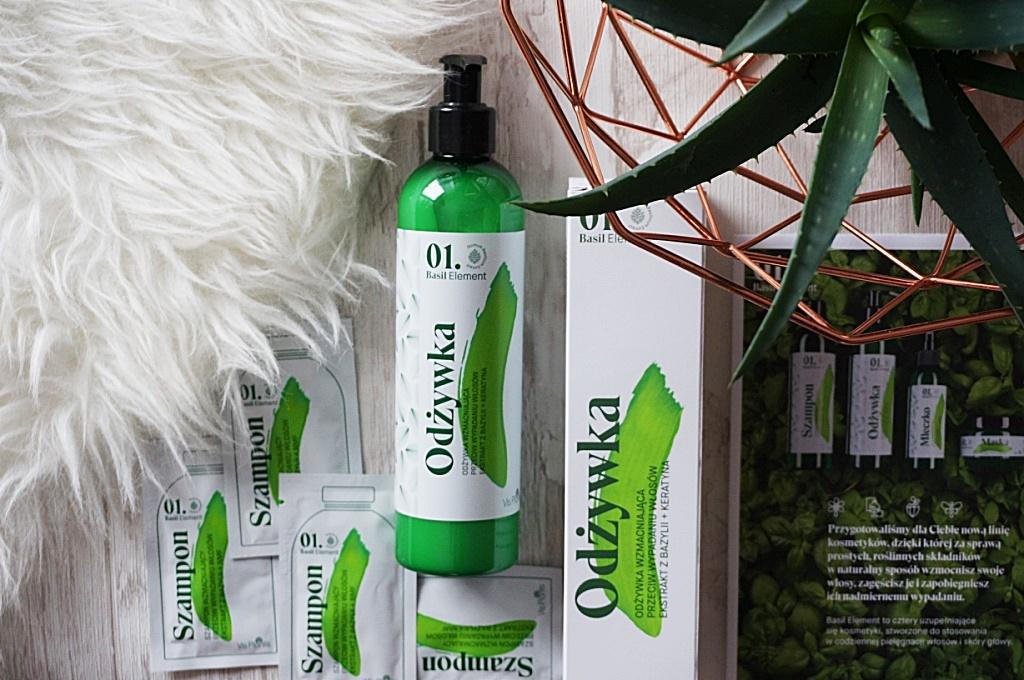 Basil Element Elfa Pharm wzmacniająca odżywka przeciw wypadaniu włosów