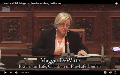 A pro-life organization welcomes any legal challenges over a new law in Iowa.
