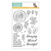 Simon Says Clear Stamps SKETCH RANUNCULUS