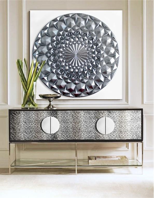 Sensaciones de hogar cuadros modernos mandalas - Cuadros mandalas ...