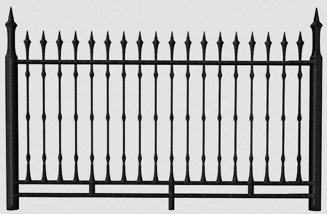 pagar besi minimalis sederhana