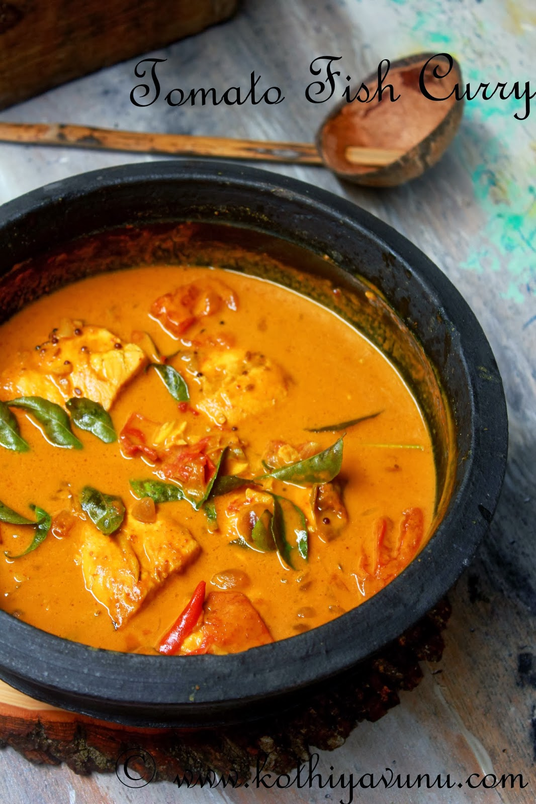 Fish Tomato Curry Recipe - Thakkali Meen Curry Recipe ...