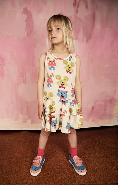 Vestido Tivoli Toy Rosa de Mini Rodini