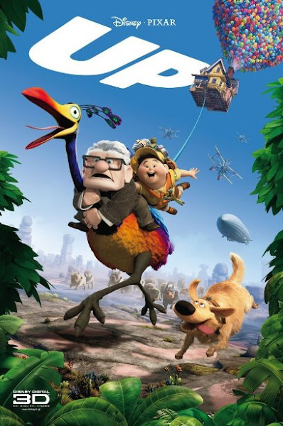 Poster of Up 2009 720p Hindi BRRip Dual Audio Full Movie Download