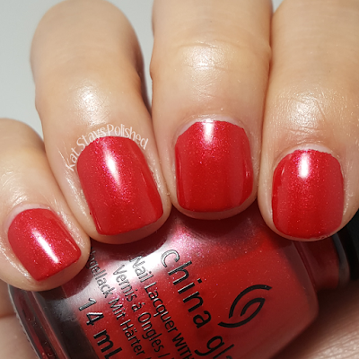 China Glaze Rebel Collection 2016 - Y'all Red-Y for This? | Kat Stays Polished