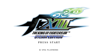 拳皇:格鬥天王13(THE KING OF FIGHTERS XIII STEAM EDITION)!