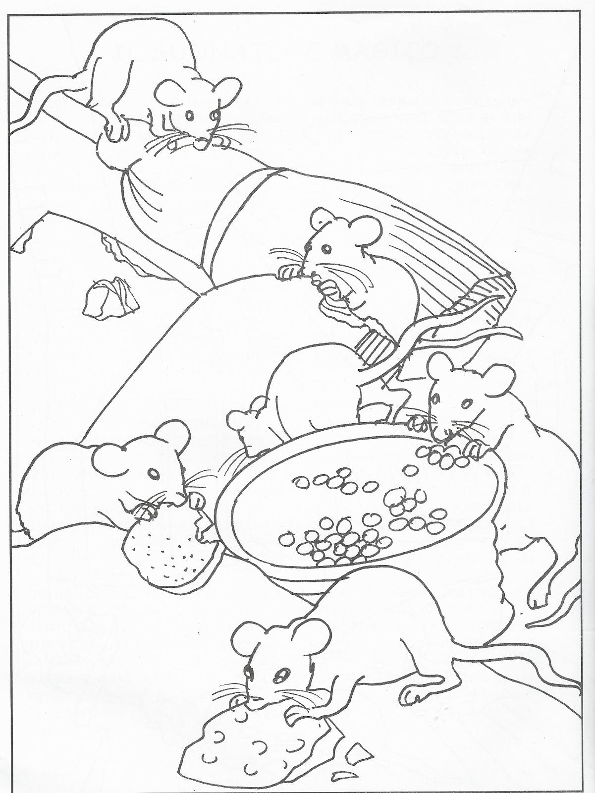 disegni da colorare: DISEGNI DA COLORARE: LA FIABA DEL ...