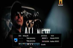 Frekuensi History HD terbaru di Measat 3 91.5°E