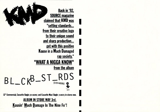 KMD 'Black Bastards' Post Card