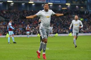 Manchester United Menang 1-0 atas Burnley  - Highlights
