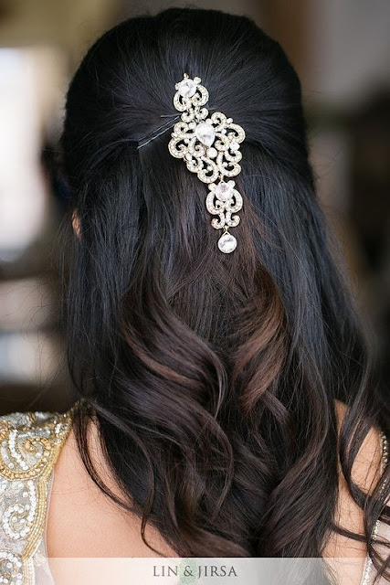 The Half Up Half Down Hairstyle