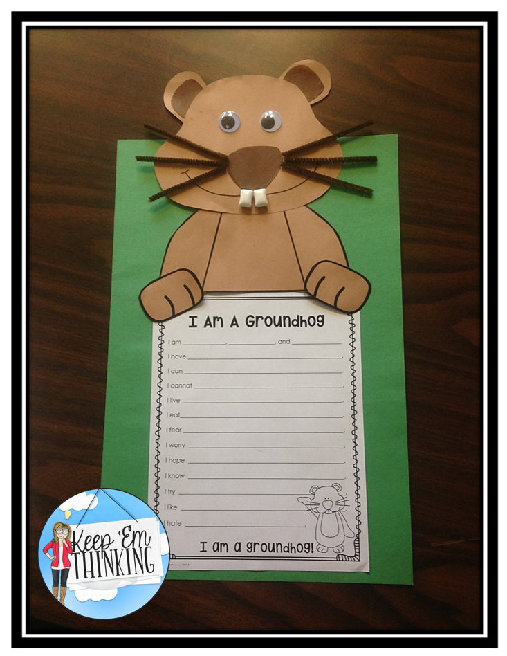 Groundhog Craftivity FREEBIE