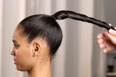Avoid tight hair styles