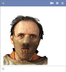 Hannibal Lecter Facebook Emoticon
