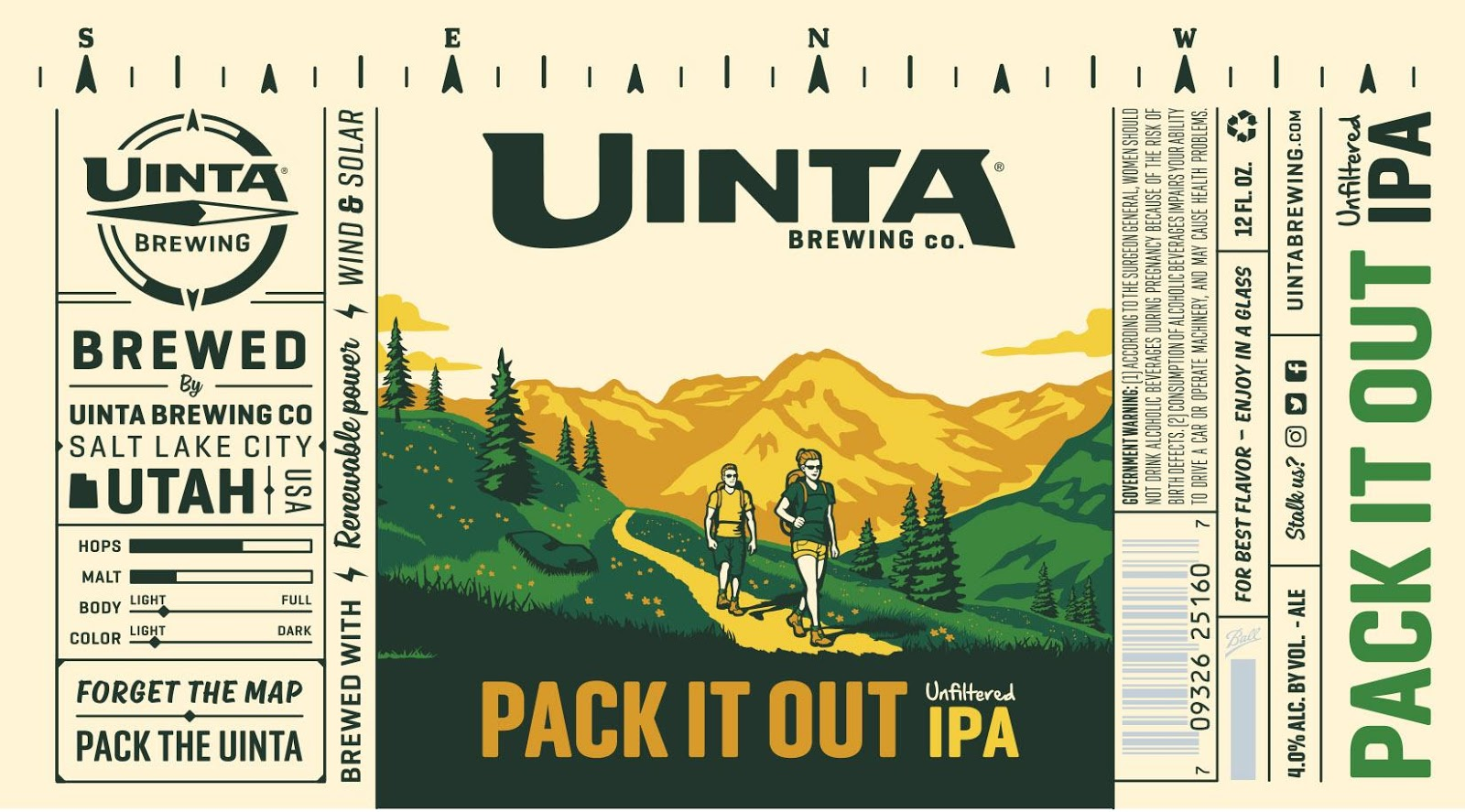 take that to mean whatever the hell you want uinta does a pretty good job with their ipas even at session strength they hope you ll take this 4 0 beer