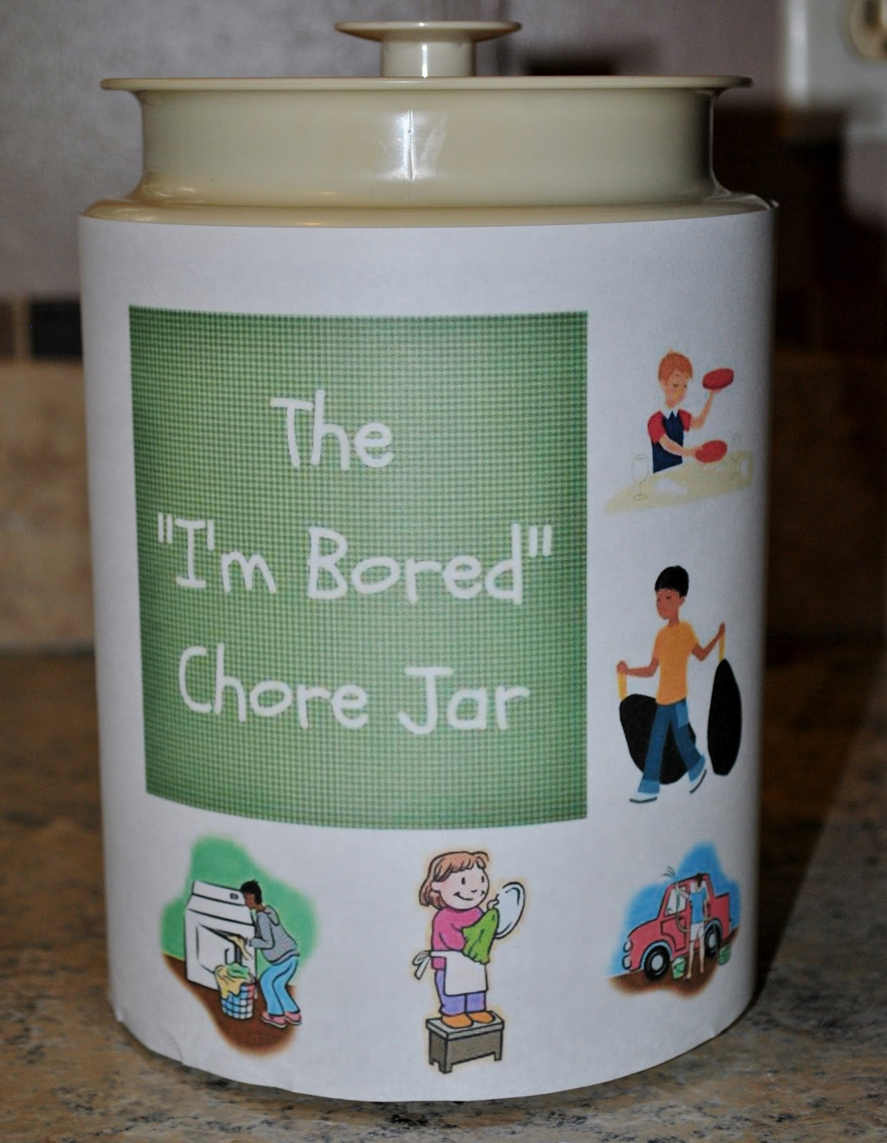 Life With 4 Boys The I M Bored Chore Jar Summertime Sanity Saver