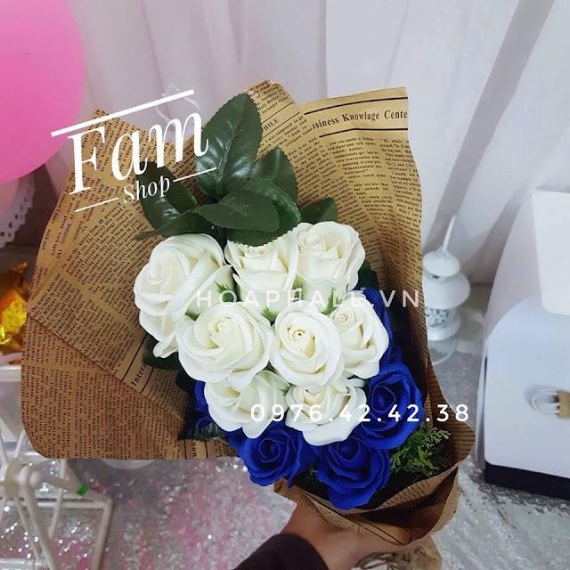 Hoa hong sap thom vinh cuu tai Doi Can